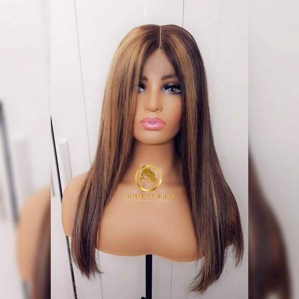 Temmyzhair bone straight deluxe wig