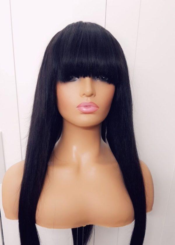 "Temmyz Hair 26"" Full fringe wig"