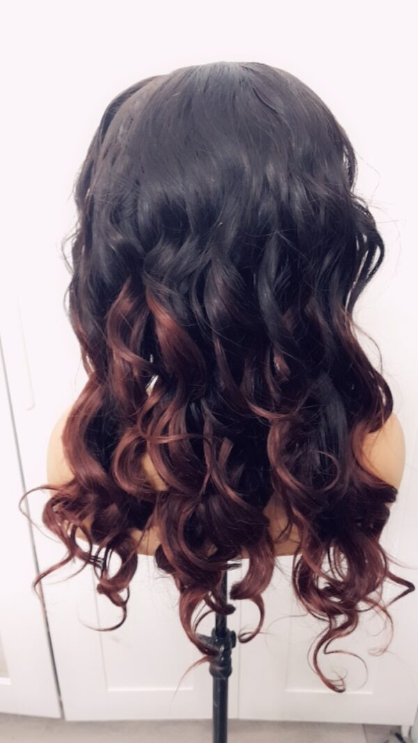 Temmyzhair Loose wave COLOUR 1B/33 deluxe wig