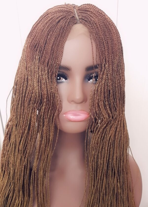 Temmyz hair 2 toned wig colour 30/gold