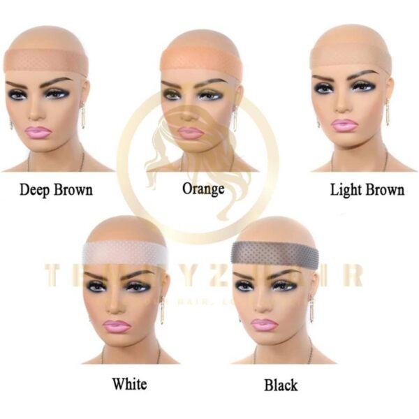 Temmyzhair Non-Slip Wig Grip Headband Transparent Silicone Wig Band Adjustable Elastic Band For Lace Wigs Fix Wig Grip Women Hair Band